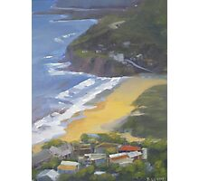View to Stanwell Park Beach Photographic Print
