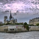 On the River Seine (4) by Larry Lingard-Davis