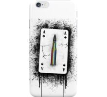 Peace bullet iPhone Case/Skin