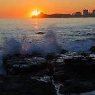 Mooloolaba Rock Pools at Sunrise by Justin Gittins
