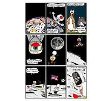 """Rick the chick  """"THE MAGIC SHELL (Un pulcino sulla luna) parte 18"""" Photographic Print"""