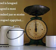 Ougoed is hougoed by Elizabeth Kendall