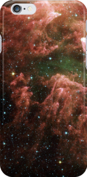 Galaxy iphone cover by Vanessa Barklay