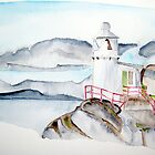 Lighthouse West Cork by Eva  Ason