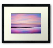 Mirror Sands Framed Print