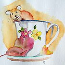 Mouse in cup by Eva  Ason
