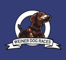 Weiner Dog Races by Rich Anderson