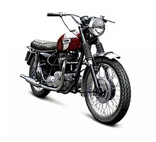 Triumph T120 Bonneville by Tony  Newland