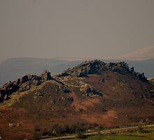 Across to the Roaches  by David J Knight