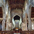 Inside The Church of St Thomas Becket - Salisbury by Clive