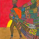Masai - Mother &amp; Child by Laura Hutton