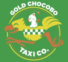 Gold Chocobo Taxi Co Kids Clothes