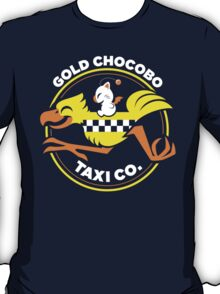 Gold Chocobo Taxi Co T-Shirt