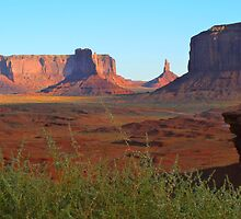 Monument Valley by supergold