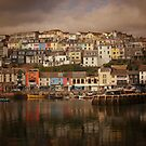 Harbour Reflections by ajgosling
