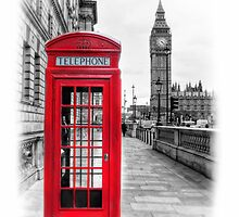 The Phone Box by Mark  Swindells