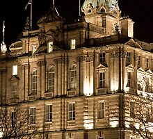 Bank of Scotland Head Quarters - Edinburgh by Chris Clark