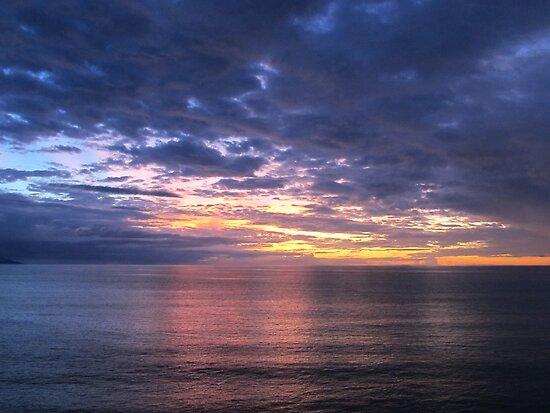 Sunset in Puerto Vallarta at the Pacific Ocean by PtoVallartaMex