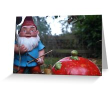 Knome Greeting Card