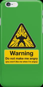 Don't Make Me Angry by DoodleDojo