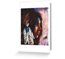 Silent Grace Greeting Card