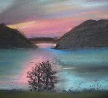 River Sunset by LouAnderson