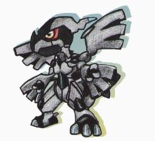Chibi Zekrom Sticker by Neo-Jubatus