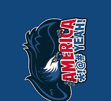 Team America iPhone Case by fishbiscuit