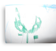 Luigi the Piranha Plant Canvas Print