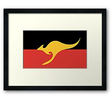 New Australian Flag Design AFL7 Framed Print