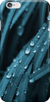 Blue waterfall (iPhone case) by Lenka