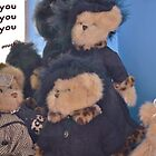 Thank You Teddies of the Mackin Manor by anneisabella