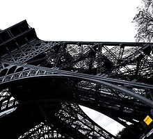 Eiffel Tower another view by John Pitman