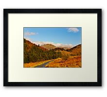 Duddon Valley Autumn Framed Print