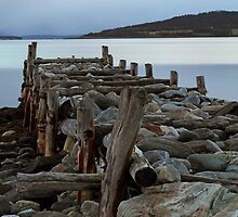 Stone pier by Frank Olsen