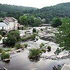 River Dee at Llangollen by GreenPeak