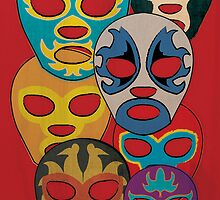 Los Luchador by Paul Mitchell
