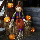 Scarecrow with Pumpkin friends by bannercgtl10