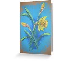 Daffodils in Pastel Greeting Card