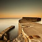 Cattersty Sands Pier by Brian Kerr