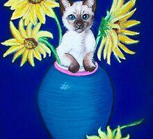 Sunflowers Scratch.. by karina73020