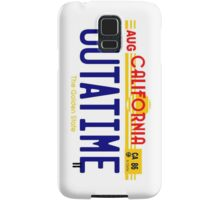 Outatime Samsung Galaxy Case/Skin