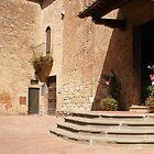 A Quiet Corner Of Certaldo by Fara