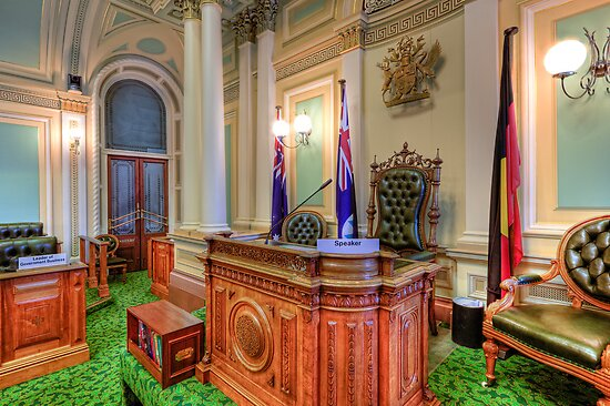Queensland Parliament Legislative Assembly • Brisbane • Australia by William Bullimore