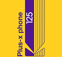 Plus-X Phone by Richard Plumridge