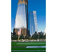 Freedom Tower Construction Photographic Print