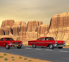 Desert Highway by Walter Colvin