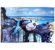 Ousted Outboards Poster