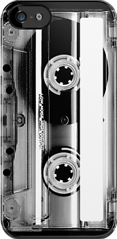 Clear Cassette Tape by CaseBase