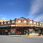 Newsagency ~ Junee NSW by Rosalie Dale